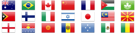 Application Icons and 220+ Flag Icons in PNG format