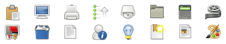 GNOME 2.18 Professional Scalable Vector Icons