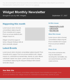 30 Html Email Templates And Plain Text Templates Web Resources
