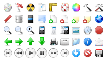 Giving Away One Set of 264 Apple's OS X Style Icons