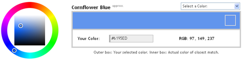 1500+ Color Names on Name That Color Javascript