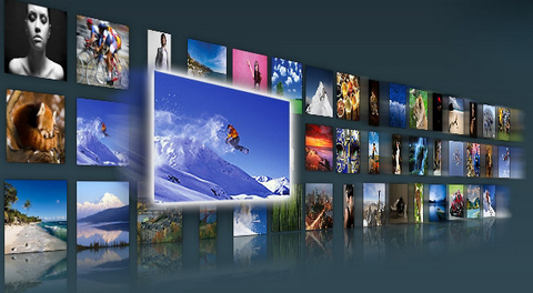 PicLens – View Images with Interactive Full Screen 3D Wall
