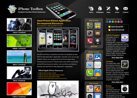 iPhone Application / Web App Development Guide