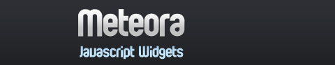 Meteora Cross-Browser Widgets and Controls