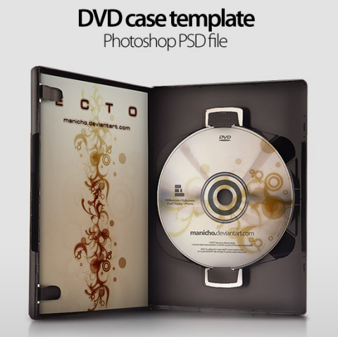 Free CD / DVD Case Templates in PSD Format