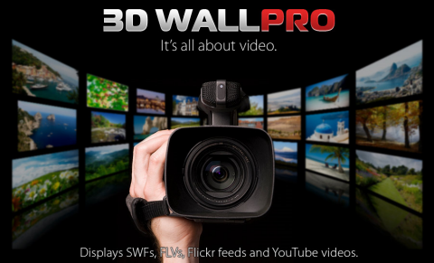 Giving Away 3 Copies of Flash 3D Wall PRO