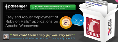 Phusion Passenger – Ruby Apps Easy Deployment on Apache