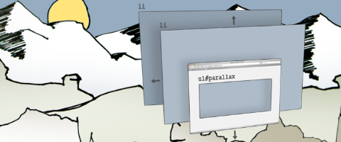 jParallax turns a selected element into a viewport
