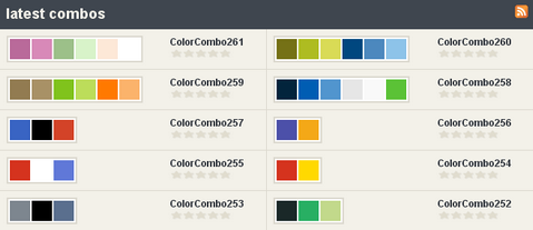 ColorCombos – Quickly Select and Test Color Combinations