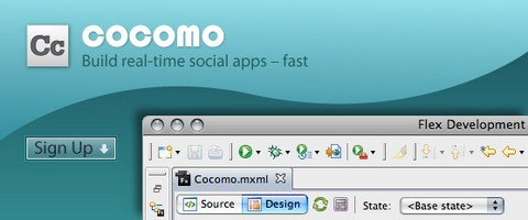 Build Flex Real-time Social Apps Fast with Cocomo