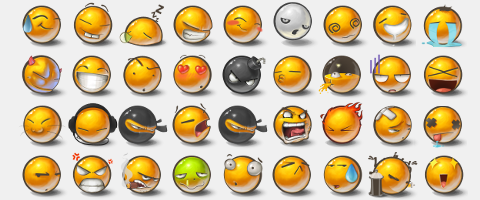 Yolks 2 Emoticons