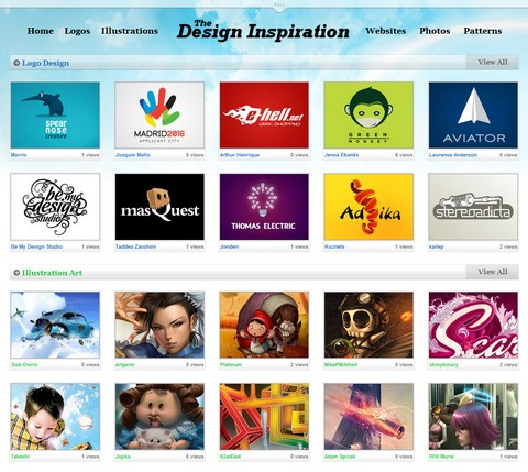 Daily Design Inspiration for Web Designers
