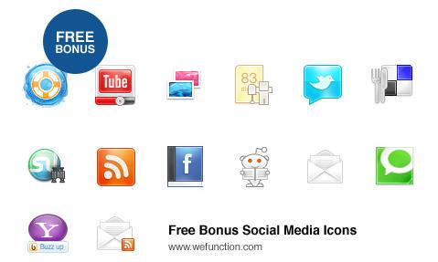 Free Social Media Icons