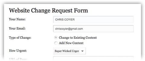Website Form