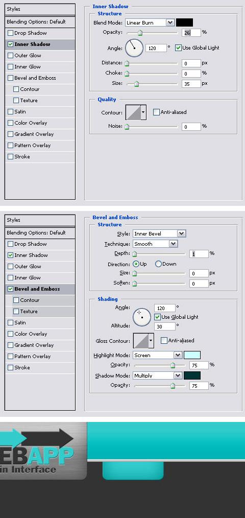 Create a Web App Admin User Interface in Photoshop | Web
