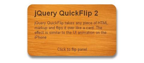 jQuery Flip