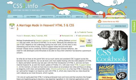 amarriagemadeinheavenhtml5andcss3 CSS3 y HTML5: Tutoriales y recursos para el nuevo diseño web