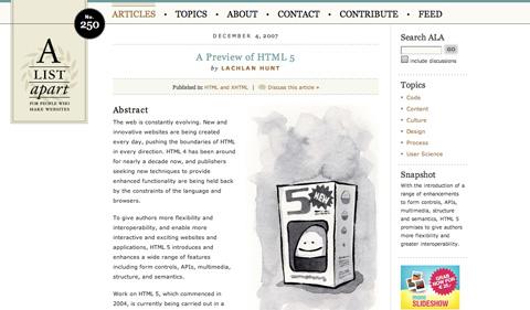 apreviewofhtml5 CSS3 y HTML5: Tutoriales y recursos para el nuevo diseño web