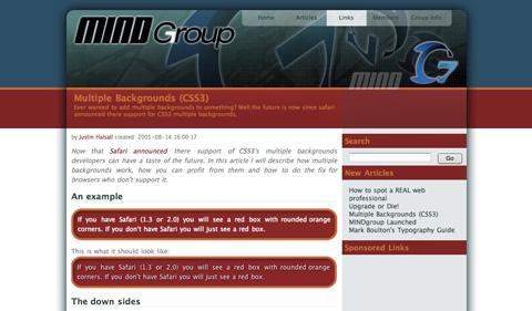multiplebackgroundscss3 CSS3 y HTML5: Tutoriales y recursos para el nuevo diseño web