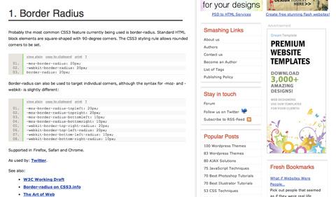 pushyourwebdesignintothefuturewithcss3 CSS3 y HTML5: Tutoriales y recursos para el nuevo diseño web