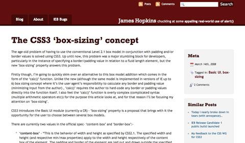 thecss3boxsizingconcept CSS3 y HTML5: Tutoriales y recursos para el nuevo diseño web