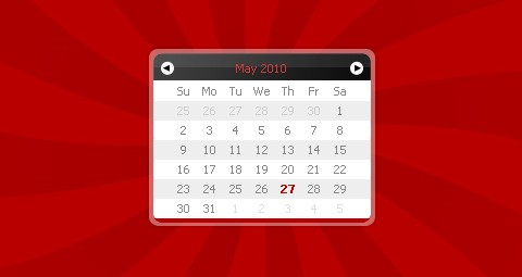 An Unobtrusive Javascript Calendar & Datepicker