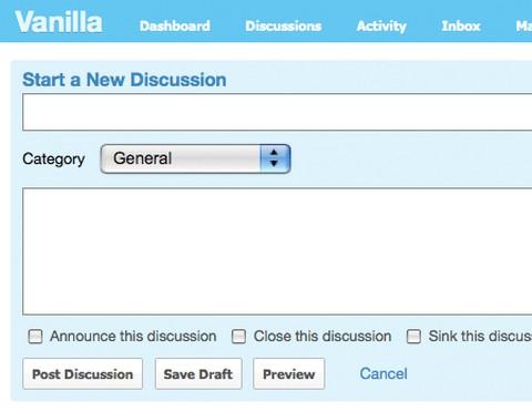 vanilla-forum