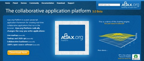 Ajax.org – Open Source Application Platform for RIAs