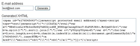 Protect Your Email Address with PHP Hide_Email()
