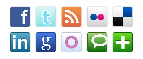 Pure CSS Speech Bubbles & Social Media Icons | Web Resources | WebAppers