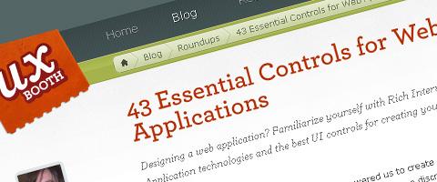 web-app-conrols