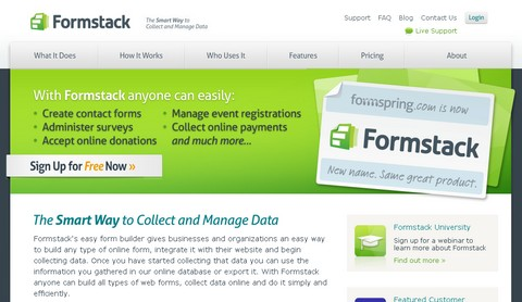 Giveaway 3 x Professional Licenses of Formstack