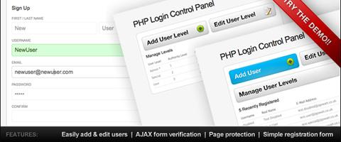 PHP Login & User Management System