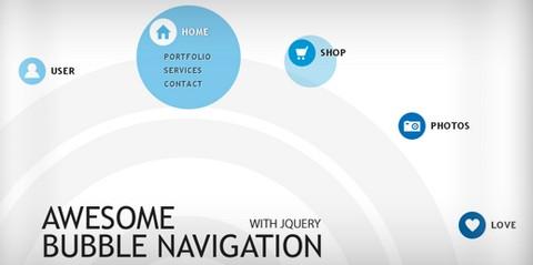 bubble-navigation