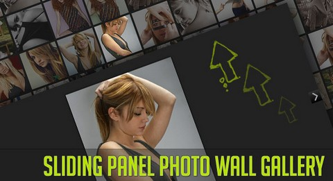 How to Create a Stunning Full Page Photo Wall Gallery