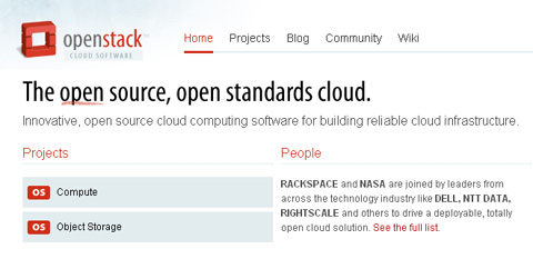 OpenStack – Open Source Cloud Computing Software