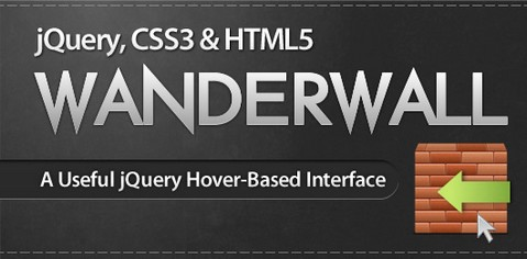 Useful Hover-based User Interface with jQuery, CSS3, HTML5