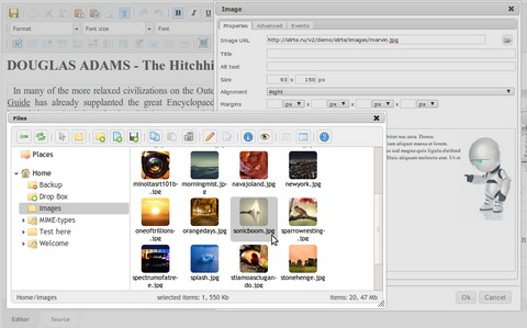 Open Source WYSIWYG HTML Editor Using jQuery UI
