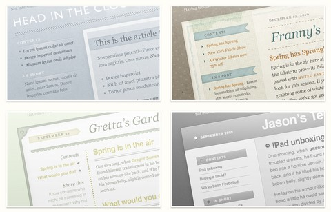 100+ Free HTML Email Templates with PSD Source Files