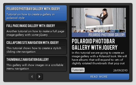 A Slick & Compact News Previewer with jQuery