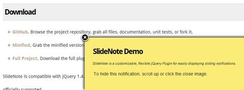 slidenote