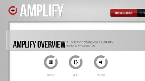 jQuery Component Library For Web Applications