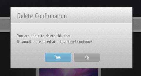 How to Create jQuery Custom Confirm Dialog Replacement | Web