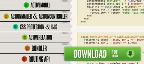 Rails 3 Cheat Sheets for Web Developers