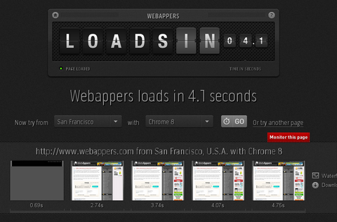Check How Fast Your Website Loads From 50 Locations