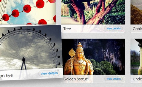 CSS3 Image Gallery with 3D Lightbox Animation | Web