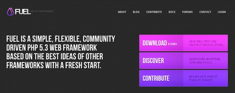 Fuel: Community Driven PHP 5.3 Framework