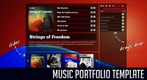 music-portfolio-jquery