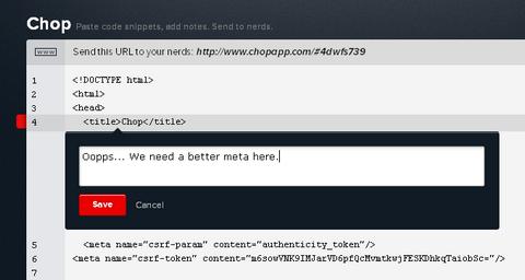 chop-app