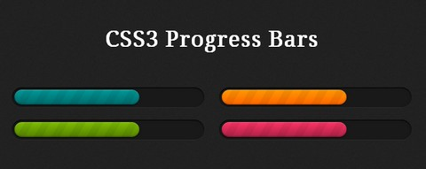 30 CSS3 Progress Bars 100% Free for Download